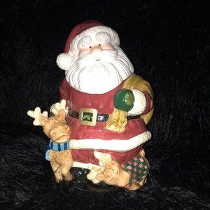 Santa cookie jar 1999